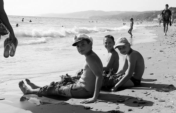 Черноморский пляж