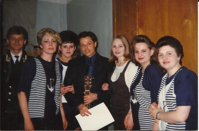 Коллектив «Фреско» и Игорь Скляр. 1998 год