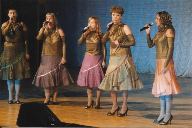 На концерте, посвящённом 15-летию группы. 2009 год