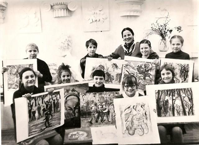 В новой школе. 1987 год