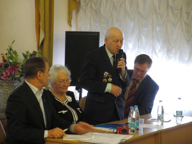 28 лет ветеранскую организацию Кронштадта возглавлял Михаил Васильевич Коновалов