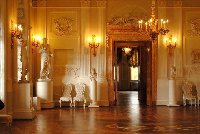 Золото Гатчинского дворца