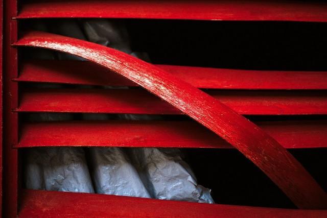 Из новой – абстрактной – серии работ Олега Зырянова